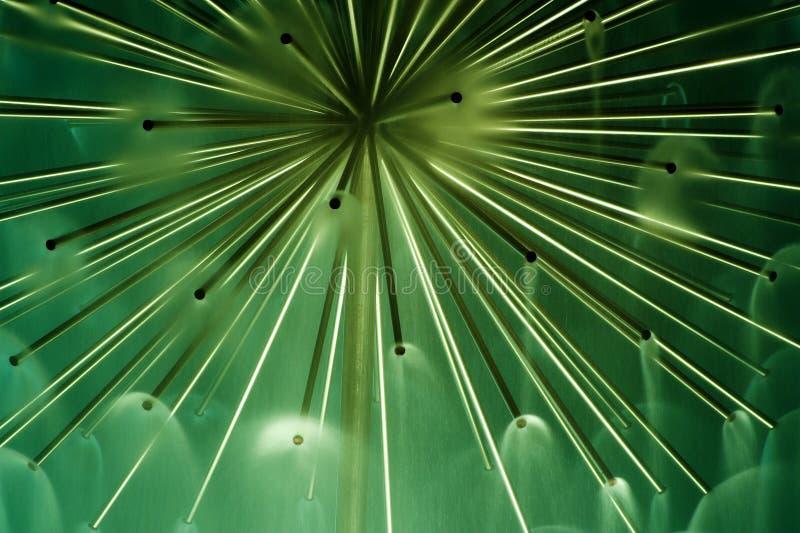 Groen abastractgevoel stock afbeelding