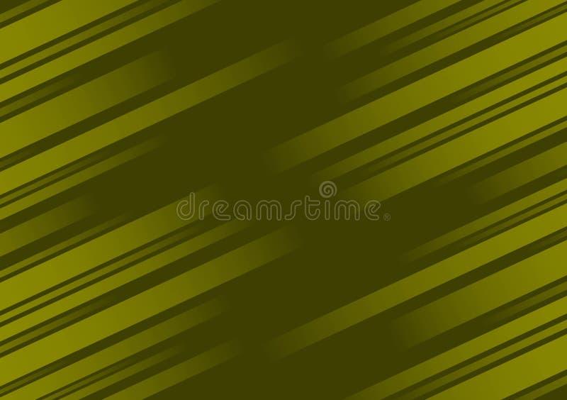 Groen achtergrond geweven diagonaal lineair behangontwerp royalty-vrije illustratie