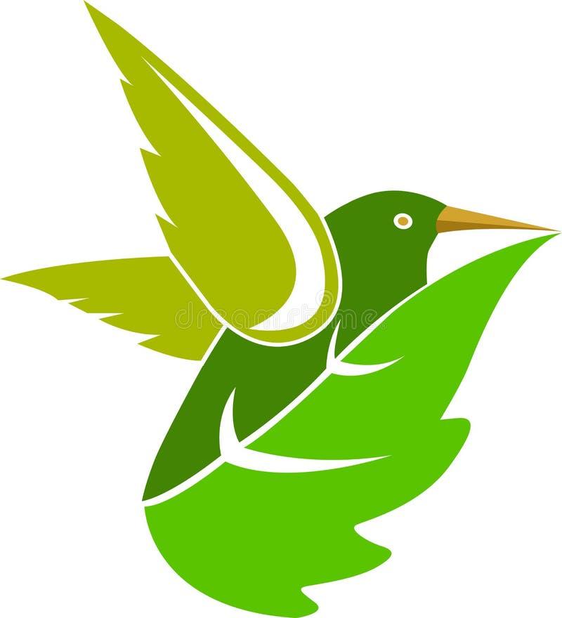 Groen blad royalty-vrije illustratie