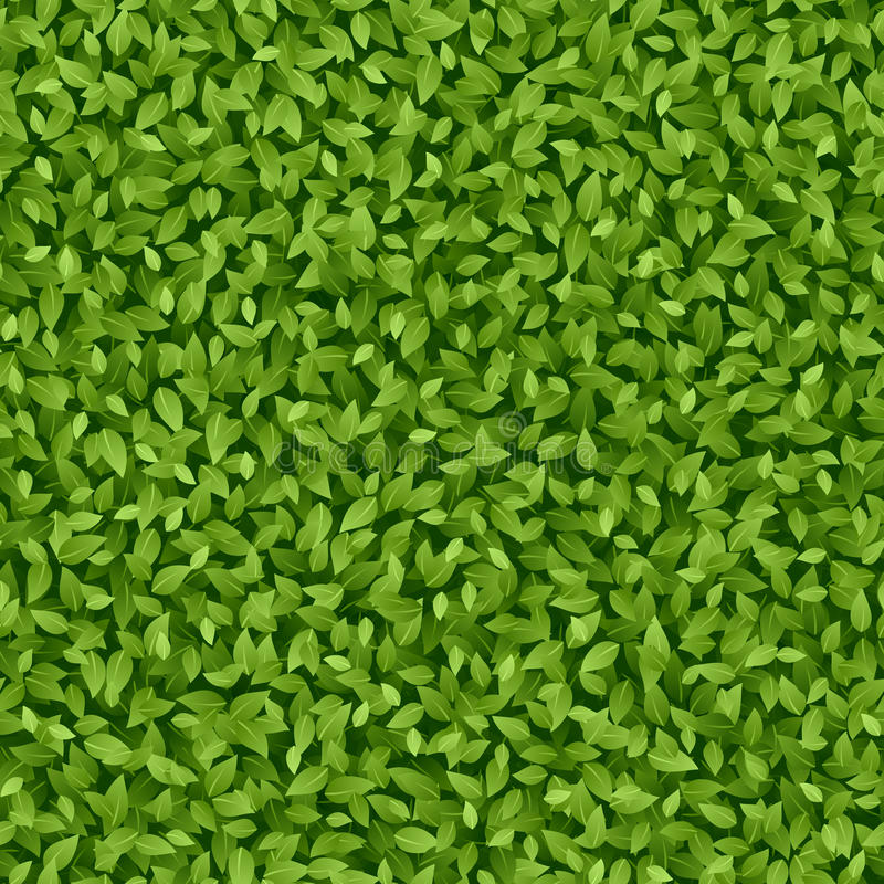 Groen bladerenpatroon royalty-vrije illustratie