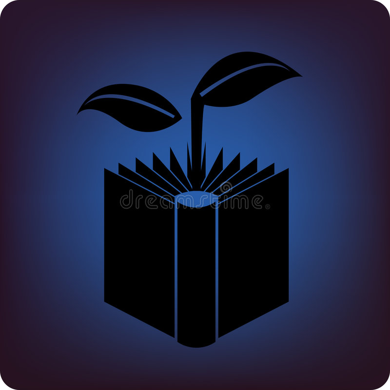 Groen boek vector illustratie