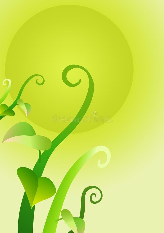 Groen doorbladert