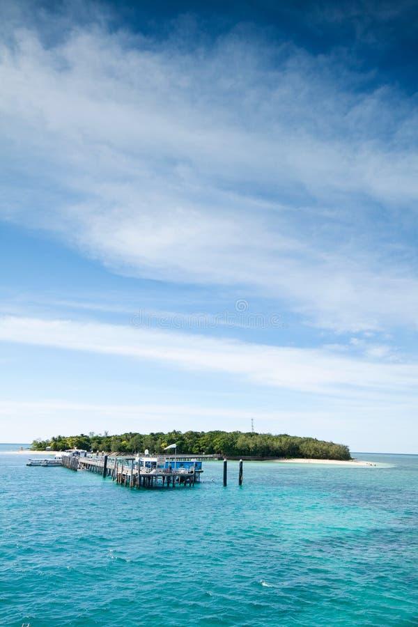 Groen eiland stock afbeeldingen