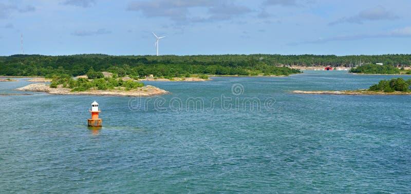 Groen eiland royalty-vrije stock foto's