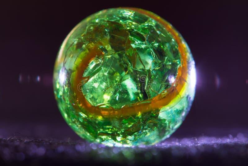 Groen en Sinaasappel 11 stock fotografie