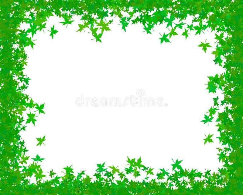 Groen frame royalty-vrije illustratie