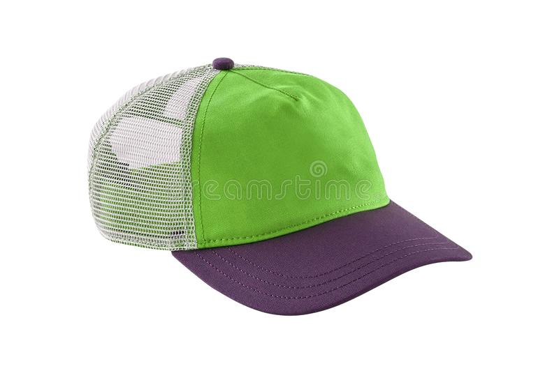 Groen geïsoleerd honkbal GLB stock fotografie