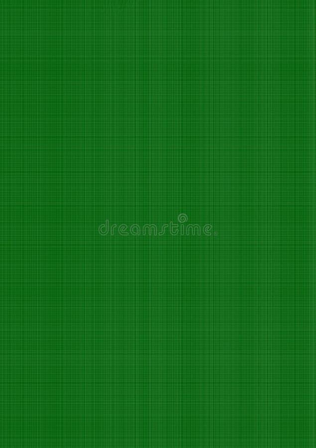 Groen gekleed geweven behang als achtergrond royalty-vrije illustratie