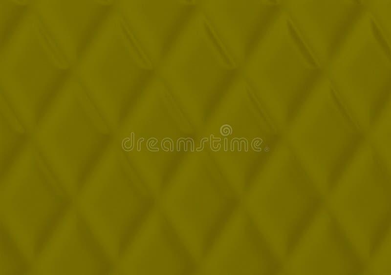 Groen geweven kussenontwerp als achtergrond voor behang stock foto's