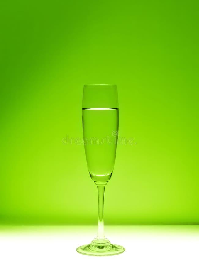 Groen glas royalty-vrije stock afbeeldingen