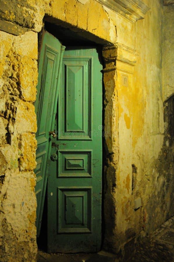 Groen, Gouden en Oud stock foto