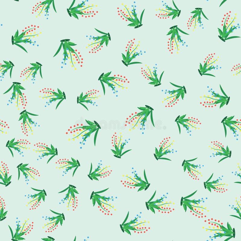 Groen gras Naadloos patroon voor uw ontwerp stock fotografie