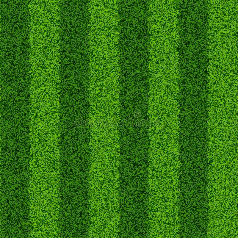 Groen grasgebied stock illustratie