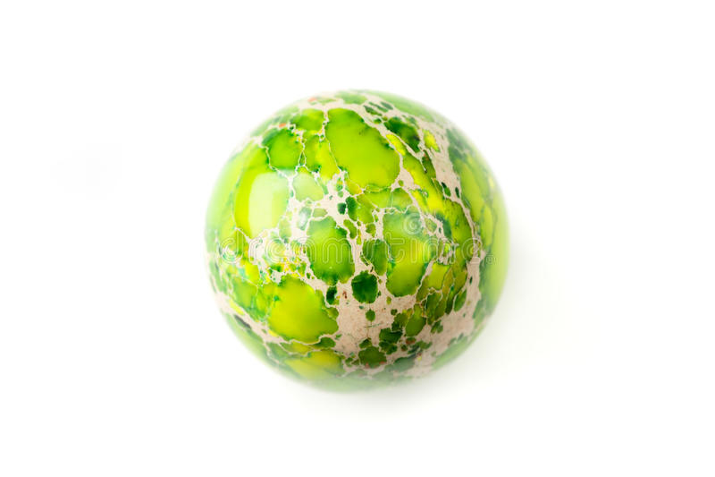 Groen jaspisgebied royalty-vrije stock fotografie