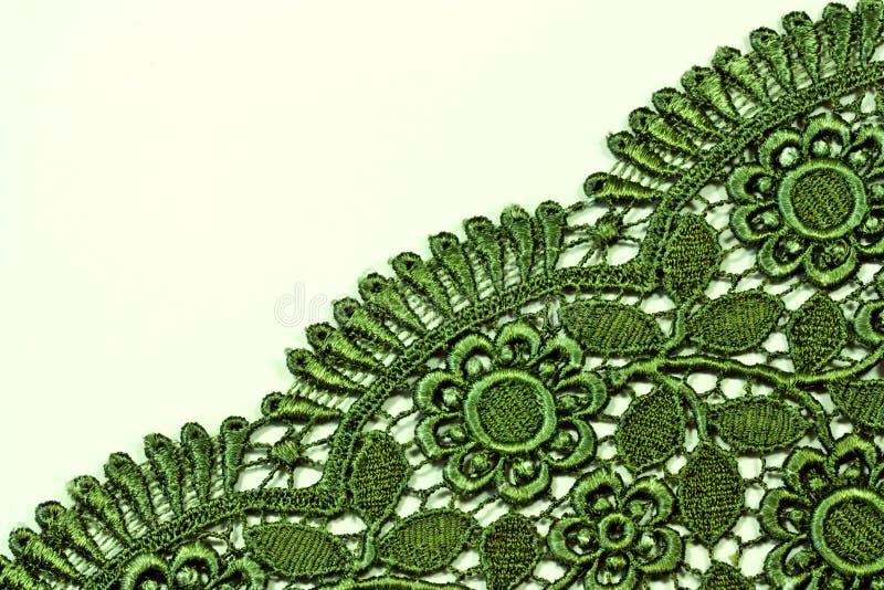 Groen kantontwerp stock foto's