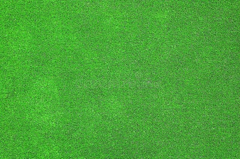 Groen Kunstmatig Gras Plat Royalty-vrije Stock Afbeeldingen