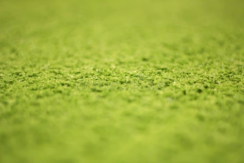 Groen kunstmatig graspatroon, textuur voor achtergrond stock afbeelding