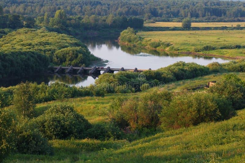 Groen landschap royalty-vrije stock fotografie