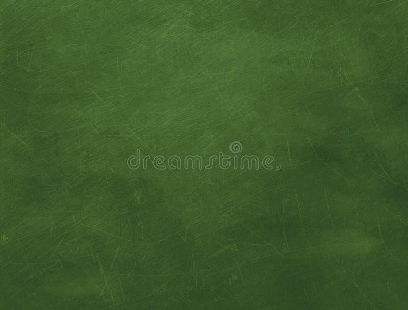 Groen leeg bord stock illustratie