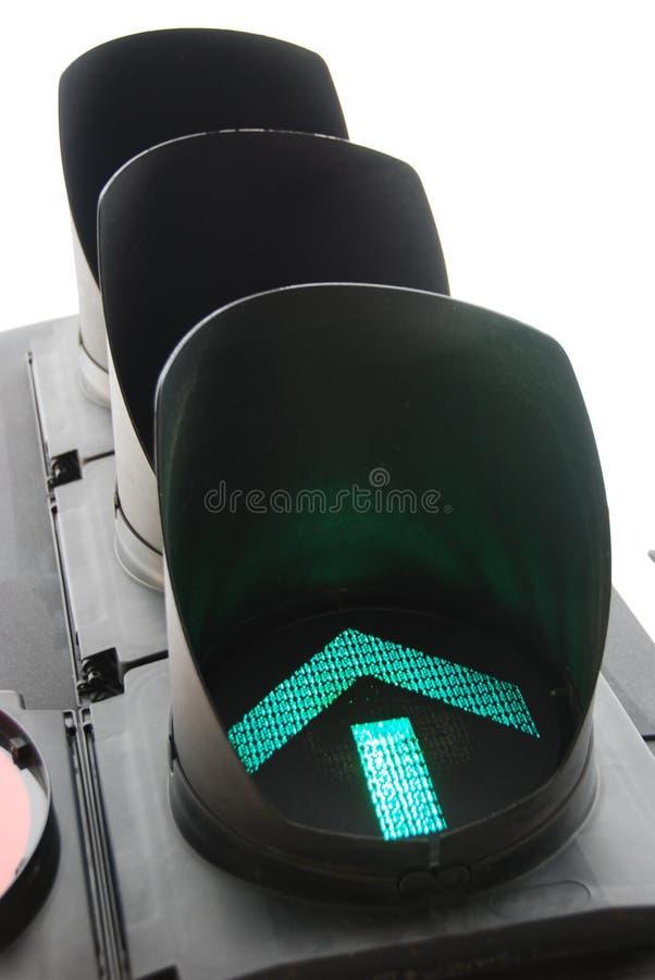 Groen licht 4 royalty-vrije stock foto