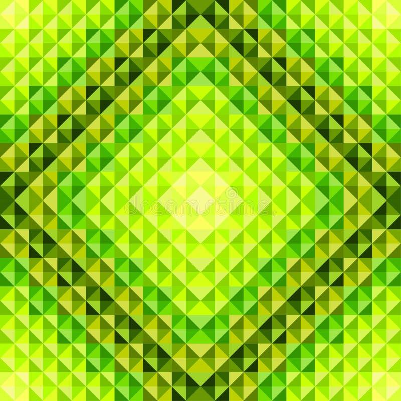 Groen licht vector illustratie
