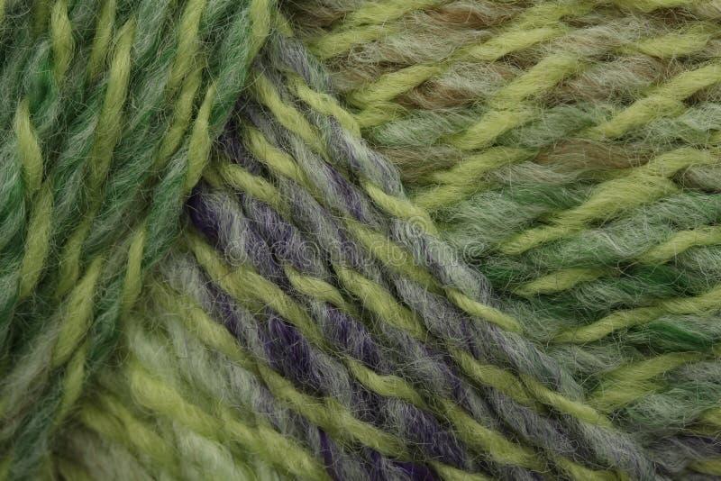 Groen mergelgaren royalty-vrije stock afbeeldingen