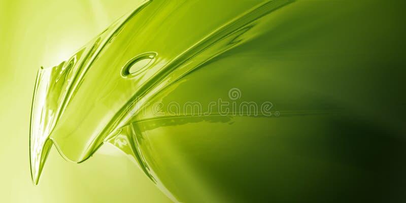 Groen Metaal royalty-vrije stock foto's