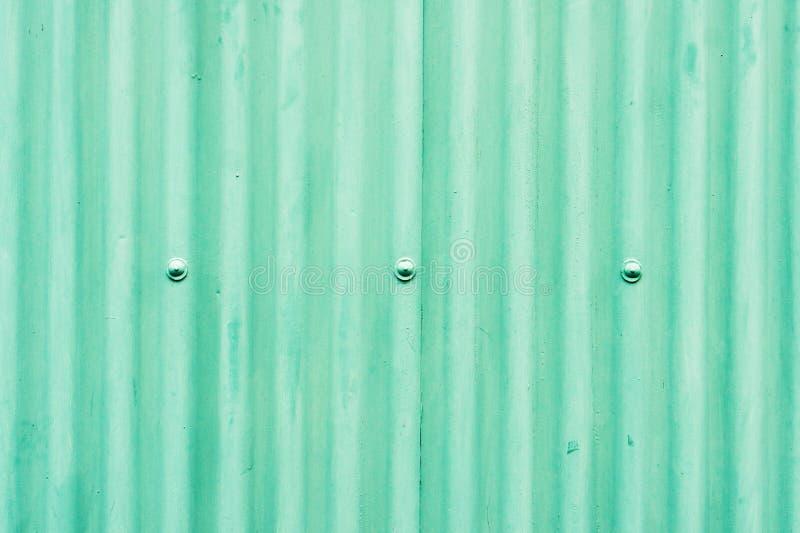 Groen metaal stock afbeelding