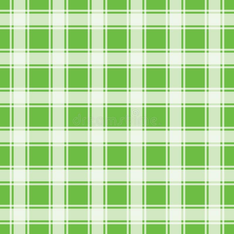 Groen naadloos patroon, gingangachtergrond stock foto
