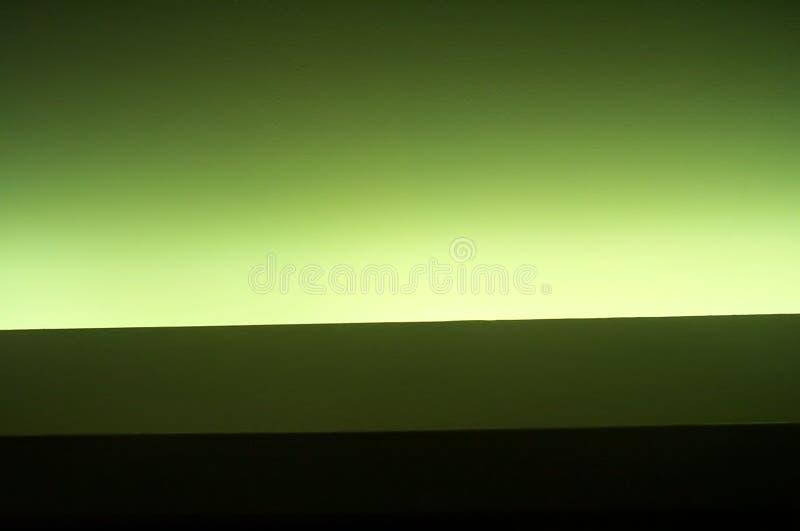 Groen neon stock afbeelding