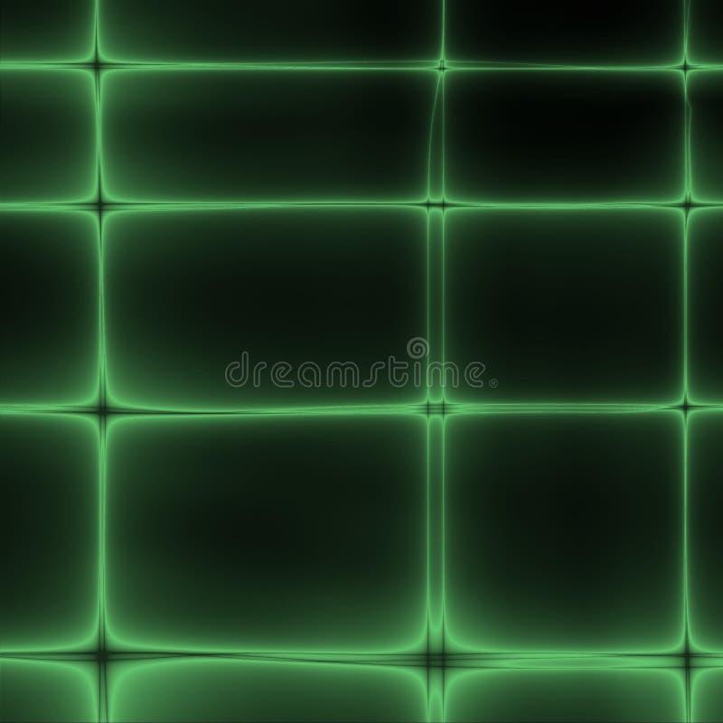 Groen net stock illustratie