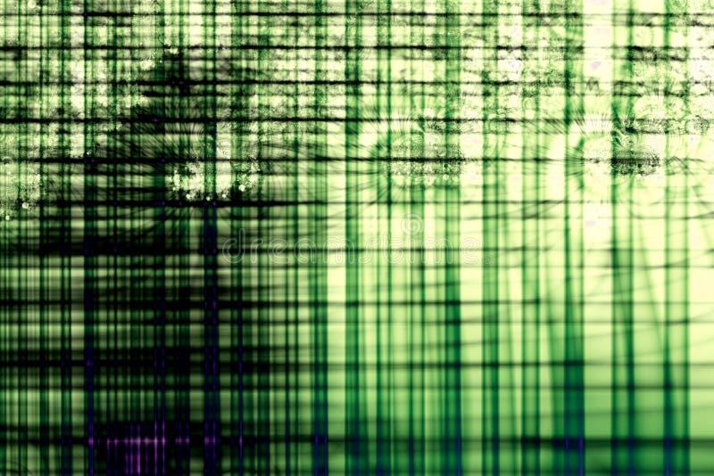 Groen Net vector illustratie