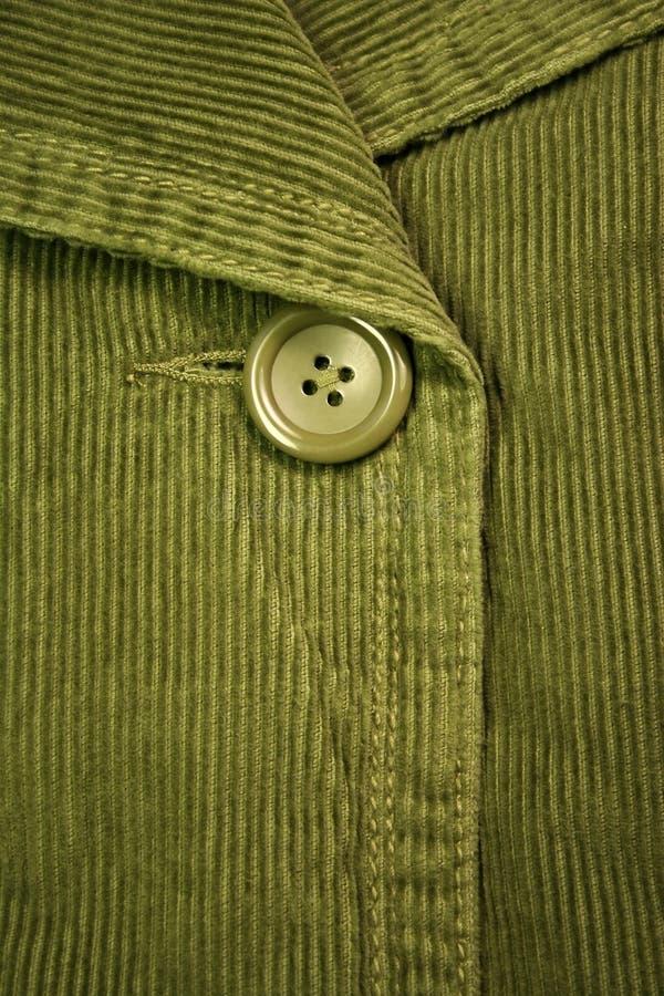 Groen ribfluweel 4 royalty-vrije stock afbeelding