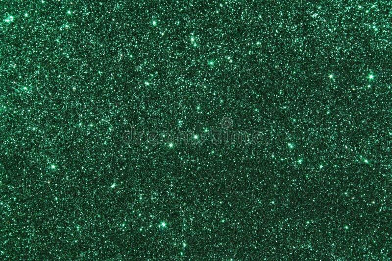 Groen schitter achtergrond stock foto