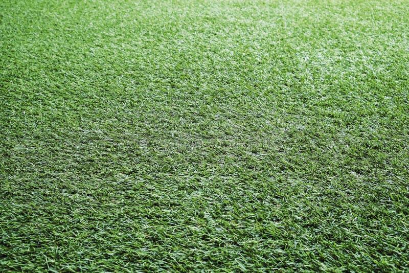 Groen van de achtergrond grastextuur Voetbalgebied stock foto