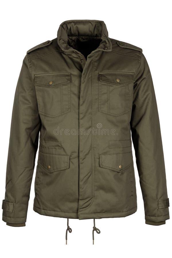 Groen warm jasje stock afbeelding