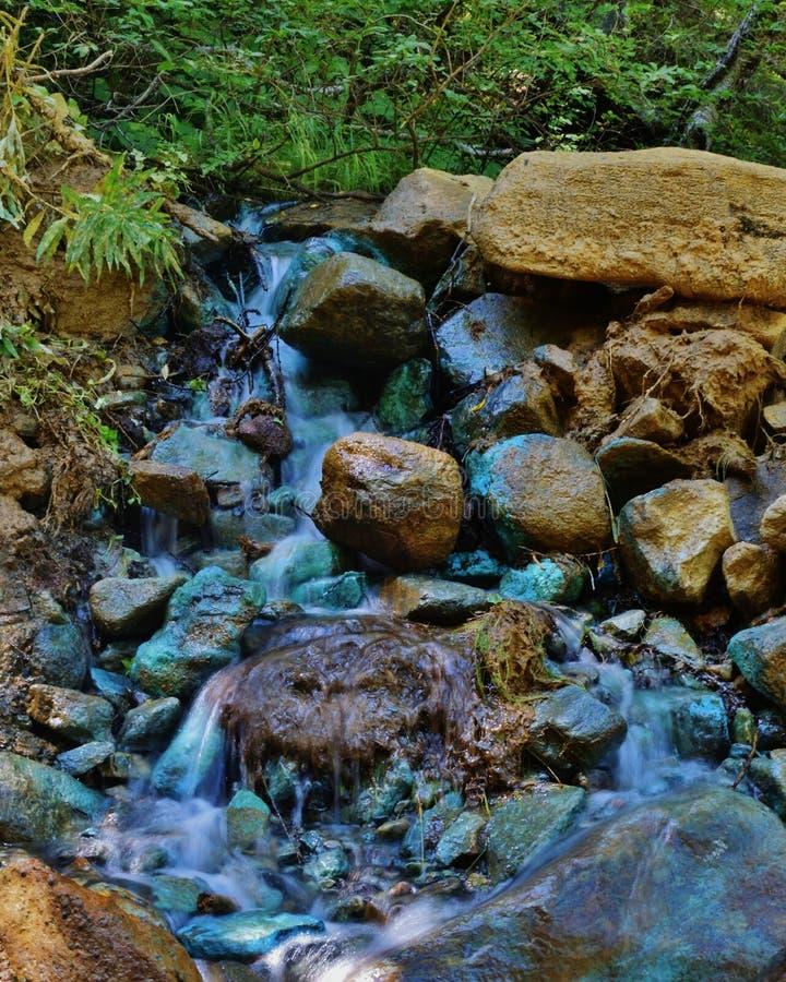 Groen water Italië royalty-vrije stock foto's