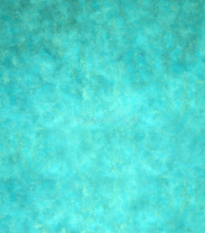 Groenachtig blauwe Abstracte Achtergrond stock fotografie