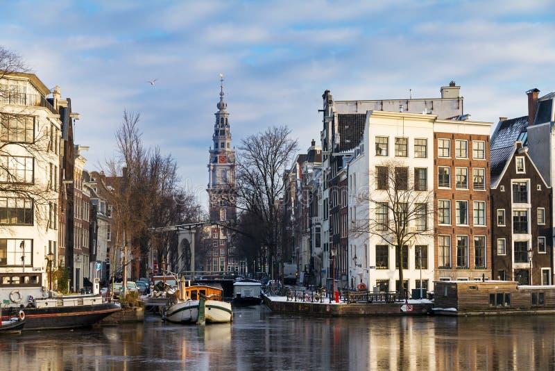 Groenburgwal Amsterdam stock photo