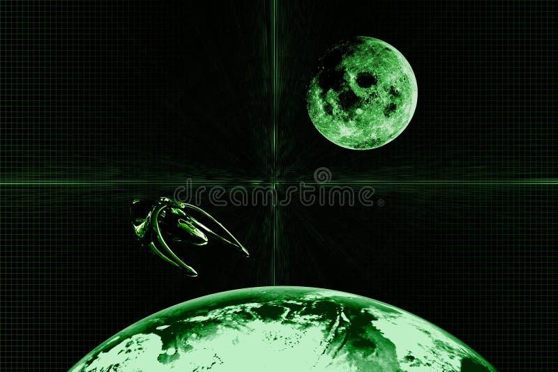 Groene Abstracte Achtergrond   royalty-vrije stock foto's