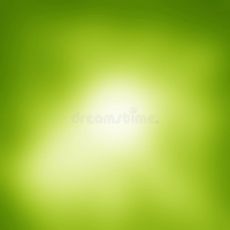 Groene abstracte lichte achtergrond vector illustratie