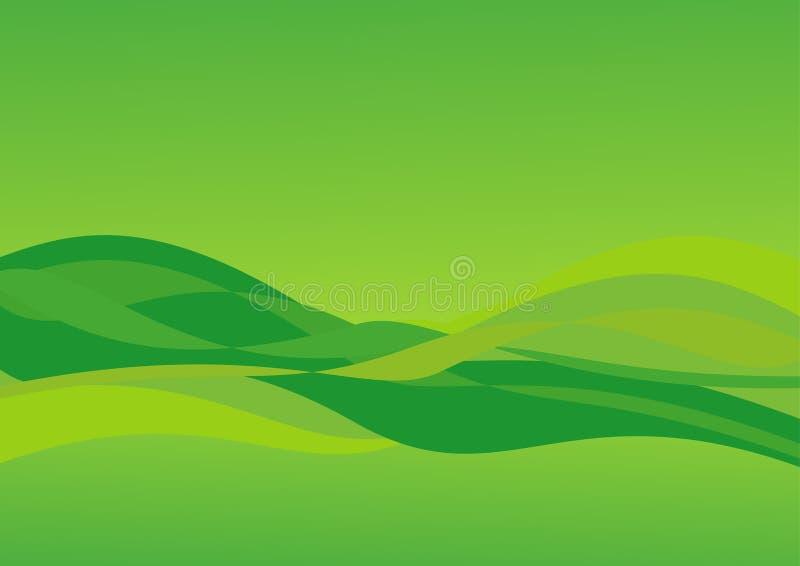 Groene achtergrond vector illustratie