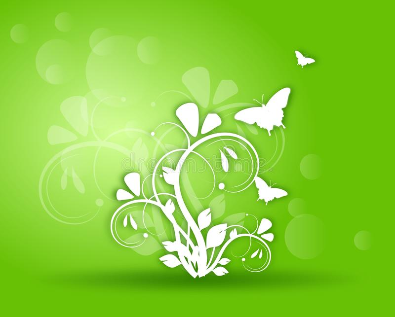 Groene Achtergrond stock illustratie