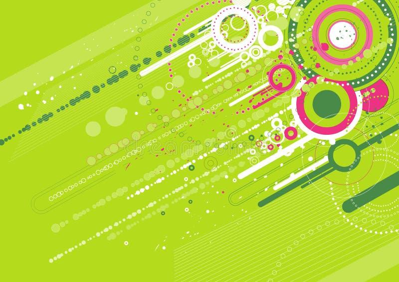 groene achtergrond, vector vector illustratie