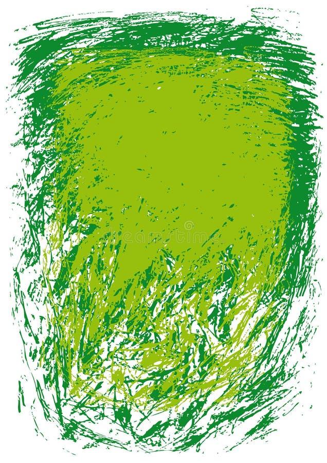Groene achtergrond (vector) royalty-vrije illustratie