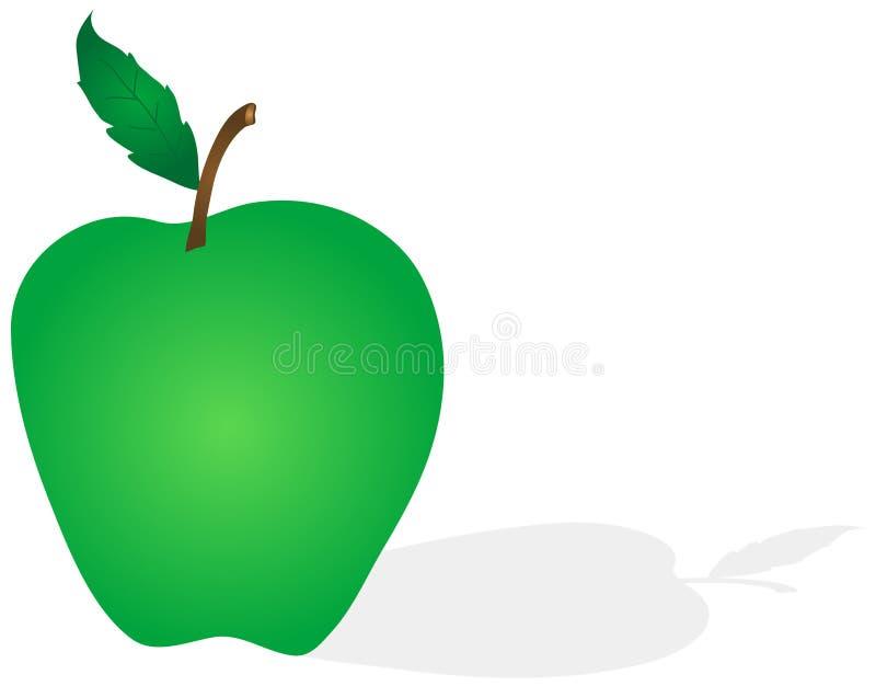 Groene Appel vector illustratie