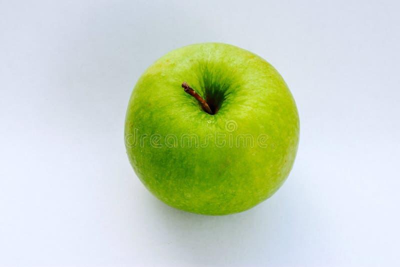 Groene appel hoogste mening stock foto