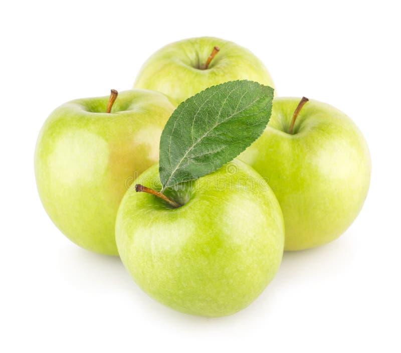 Groene appelen royalty-vrije stock foto