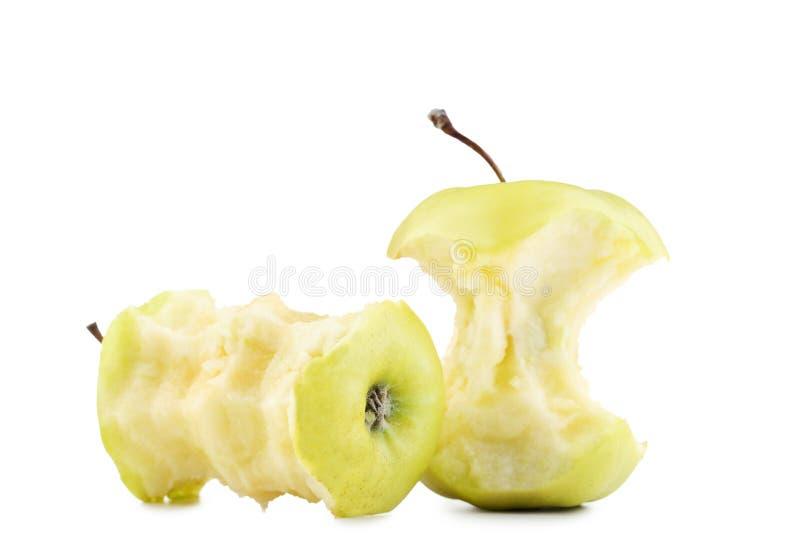 Groene appelstomp stock afbeelding