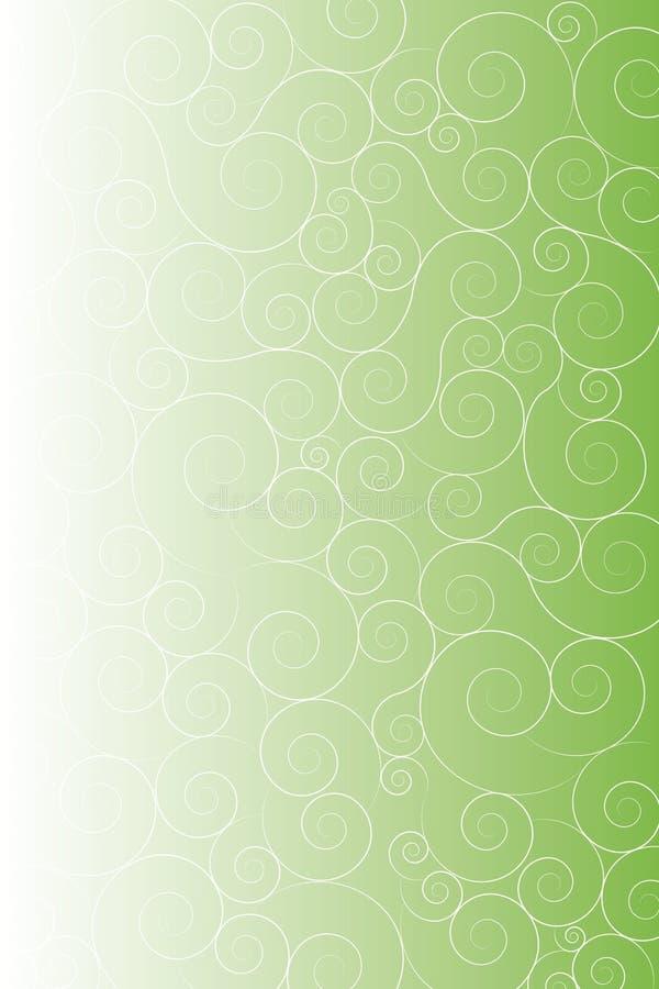 Groene artistieke achtergrond stock afbeeldingen